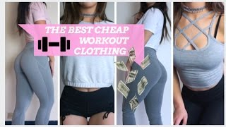 AFFORDABLE GYM CLOTHING | UNDER $30