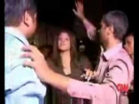 Mad Indians molest cnn reporter Sara Sidner