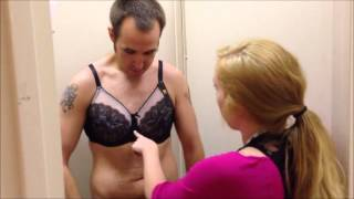 Eric the Intern Gets Fitted for a Bra at Dillard's