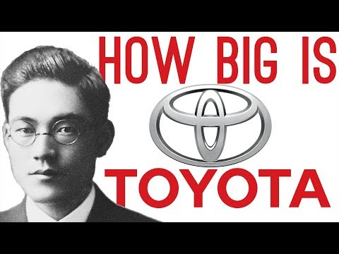 How Big is Toyota They've Owned 27 of Tesla Motors