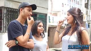 Girls on Bra || Apki bra dikh rahi hai || GIRLS REACTION