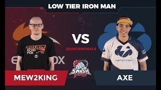 Mew2King vs Axe - Low Tier Iron Man: Quarterfinals - Smash Summit 5