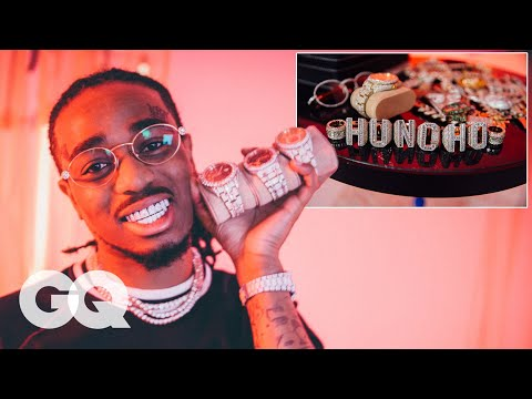 Quavo Shows Off His Insane Jewelry Collection GQ