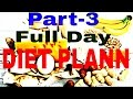 Bodybuilding diet plan Full day of eating to gain muscles in hindi india.