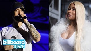 Nicki Minaj Says She's in a Relationship With Eminem | Billboard News