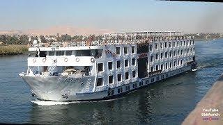 Ägypten Nilkreuzfahrt nach Luxor Nilkreuzfahrt Ägypten Egypt Nile cruise to Luxor البواخر النيلية