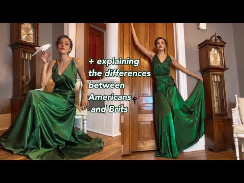 Making THAT Green Dress From Atonement