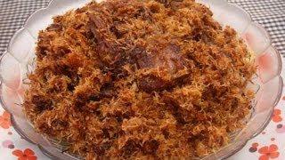 Resep dan Cara Memasak Serundeng Kelapa Daging Sapi