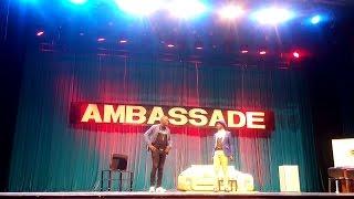 Ambassadeur Agalawal - RDV à l'Ambassade: Le Magnifique est venu cherché son visas