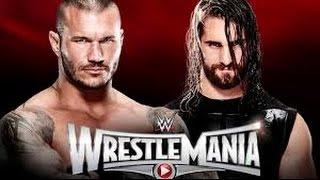Randy Orton vs Seth Rollins l WrestleMania 31 l Combates WWE