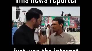 Pakistani reporter asking people lesbian and masturbute etc funny