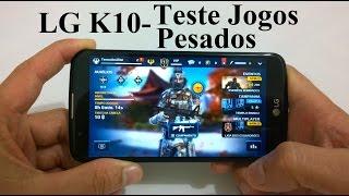 LG K10 - Teste em Jogos Pesados