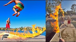 JUMP ROPE OF FIRE (BURNED)