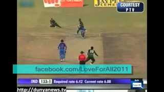 Indian Media Trying to Confuse Saeed Ajmal for final Match