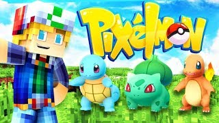 WELCOME BACK TO PIXELMON! (POKEMON IN MINECRAFT) Episode 1