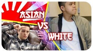 Asian vs White People: LIFESTYLE