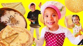 Gerçek yemek yapma oyunları! Eğitici çocuk videosu