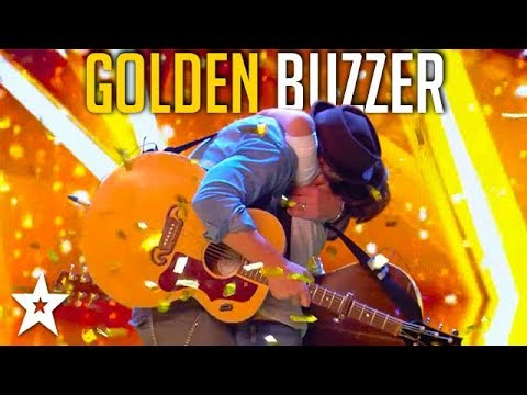 Xxx Mp4 Father And Son Get GOLDEN BUZZER On Britain39s Got Talent Got Talent Global 3gp Sex