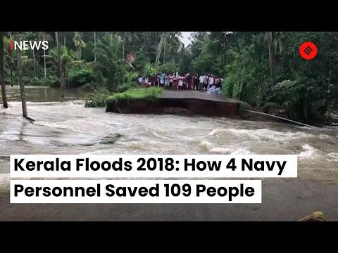 Xxx Mp4 Kerala Floods 2018 Kerala Floods 2018 News How 4 Navy Personnel Saved 109 People 3gp Sex