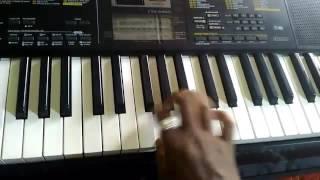 Bhojpuri song ai raja raja on piano