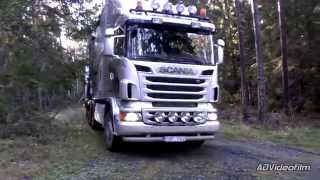 Scania R620 8x4   BRUKS Mobile Chipper 2015