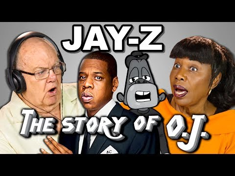 ELDERS REACT TO JAY Z THE STORY OF O.J.