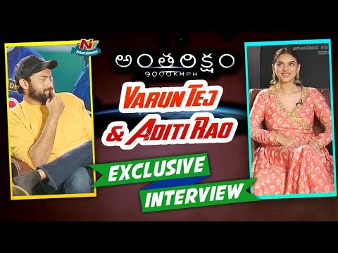 Xxx Mp4 Varun Tej Aditi Rao Hydari Exclusive Interview Antariksham Movie NTV Entertainment 3gp Sex