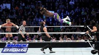 Kofi Kingston & Dolph Ziggler vs. Dean Ambrose & Roman Reigns: SmackDown, Feb. 7, 2014