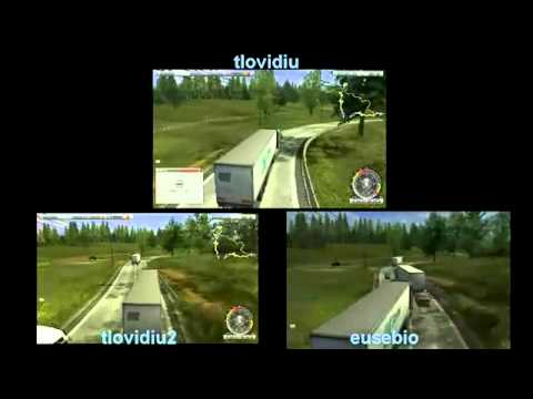 german truck multiplayer xD