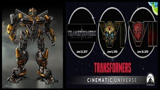 Transformers The Last Knight - Bumblebee Prequel & Cybertron CG Movie Info/Plot
