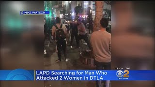 Caught On Video: Man Wanted For Beating 2 Women