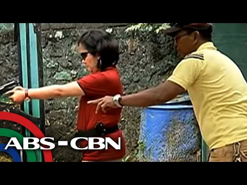 TV Patrol: Ilang prosecutor, nagsasanay na sa paghahawak ng baril
