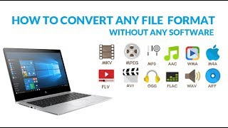How To Convert Mp3 Audio File Without  Software Install Fast and Free | Technical Web Support