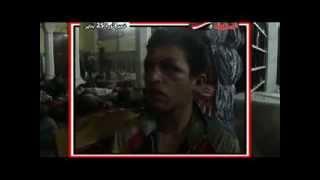 صبي يعترف   الجيش إستعان بى فى حرق المجمع العلمى ! !