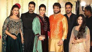 Tv Celebs At Karan Patel And Ankita Bhargava Diwali Party 2017