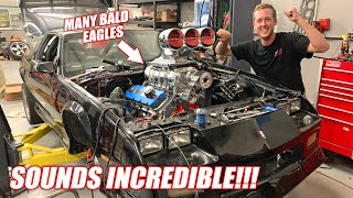 TOAST IS ALIVE! Firing Up Our 10.3L Supercharged BIG BLOCK For the First Time! *MAXIMUM FREEDOM*