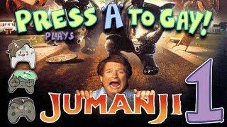 Press A To Gay! Plays Jumanji PS2 (Part 1)