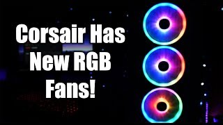 These Fans Make Me Loopy! Corsair LL RGB Fan Review / Demo!