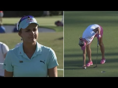 Pro Golfer Lexi Thompson Loses Tournament After Fan Calls Out Violation