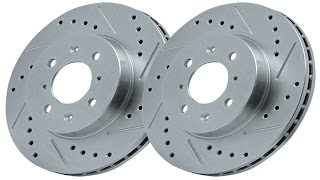 Key Differences Between Drilled And Slotted Rotors And Standard Rotors