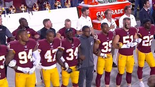More than 200 NFL players protest after Trump