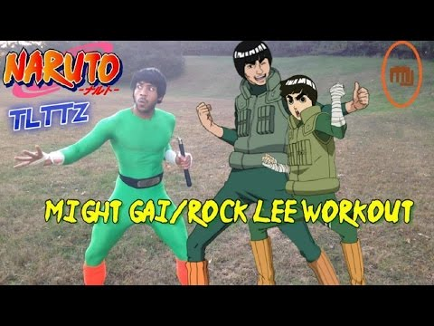 Rock Lee/Might Guy TRAINING | Naruto Tough Like The Toonz: EP 18