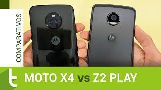 Motorola Moto X4 vs Moto Z2 Play | Comparativo do TudoCelular