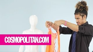 Clueless Guys Figure Out Complicated Lingerie   Cosmopolitan