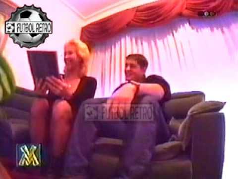 Camara Intrusa a Domicilio Hijo presenta a su novia VideoMatch 1997 FUTBOL RETRO TV