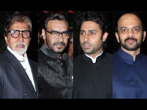 Raghav Sachar & Amita Pathak Wedding Reception | Amitabh, Ajay Devgn, Abhishek, Rohit Shetty