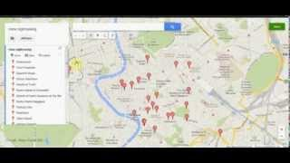 (Using Google Maps to help plan a *European vacation*) More easily