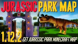 How to get JurassiCraft Map 1.12.2 - download and install Jurassic Park Map in Minecraft 1.12.2