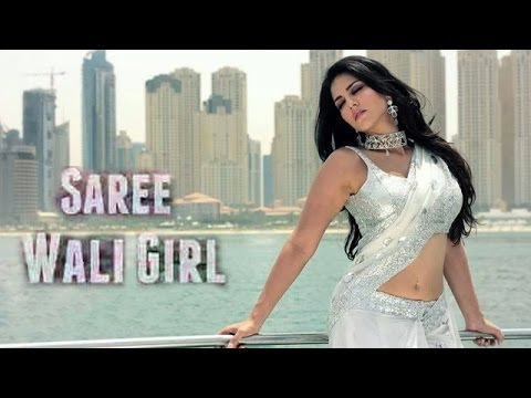 Sunny Leone Glam-Up In Saree Wali Girl !