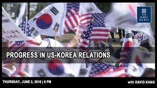 Progress in US-Korea Relations with David Kang